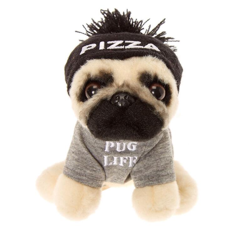 Doug The Pug Small Pug Life Soft Toy Claires