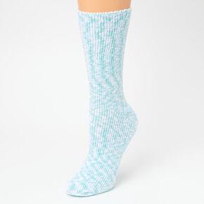 Cat Plush Crew Socks - 2 Pack,