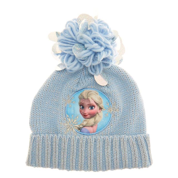 Disney reg  Frozen Woolly Hat - Pale ... 2f6f0bdd872