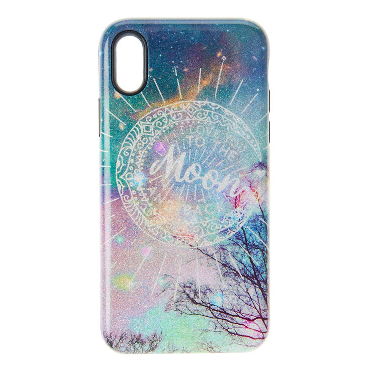 best website 4fb63 8a4d8 I Love You to The Moon & Back Phone Case - Fits iPhone X/XS