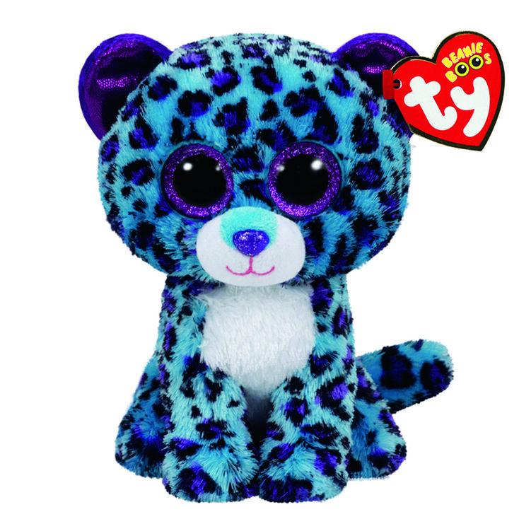 Ty Beanie Boo Medium Lizzie the Leopard Soft Toy  e51b6dd608f
