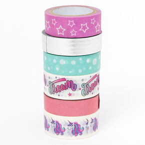 Unicorn Washi Tape Set - 6 Pack,