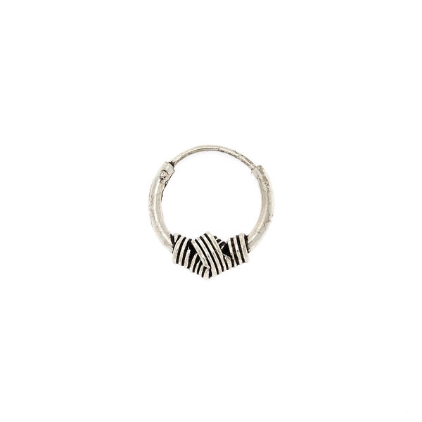 Claire's - sterling 22g knot cartilage earring - 2