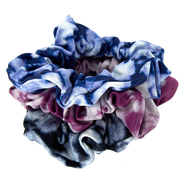 Claire's - metallic tie dye hair scrunchies - 2