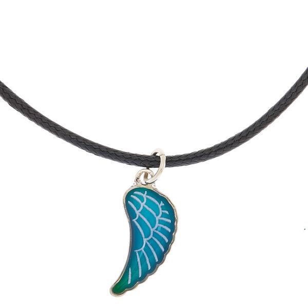 Claire's - collier d'humeur à pendentif aile - 1