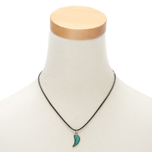 Claire's - collier d'humeur à pendentif aile - 2