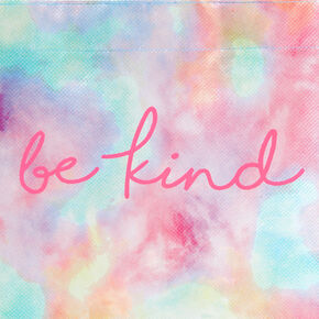 Be Kind Tie Dye Reusable Tote Bag,