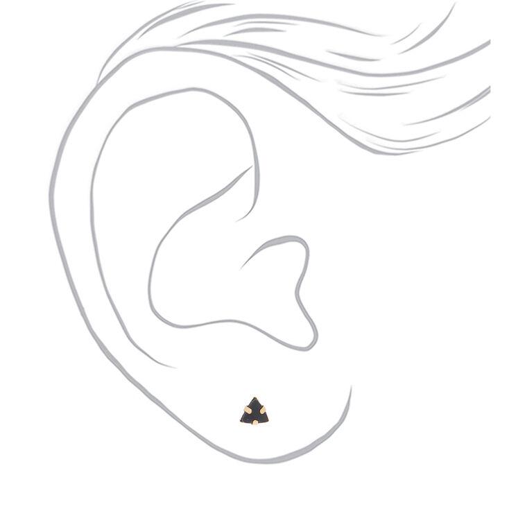 Gold Celestial Stud Earrings - 9 Pack,