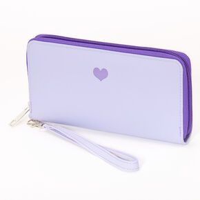 Single Heart Wristlet - Lavender,