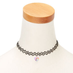 40e5aadfa Miss Glitter the Unicorn Tattoo Choker Necklace