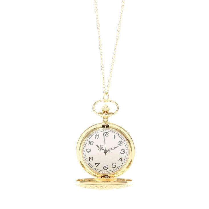 Collier montre filigrane de style vintage,