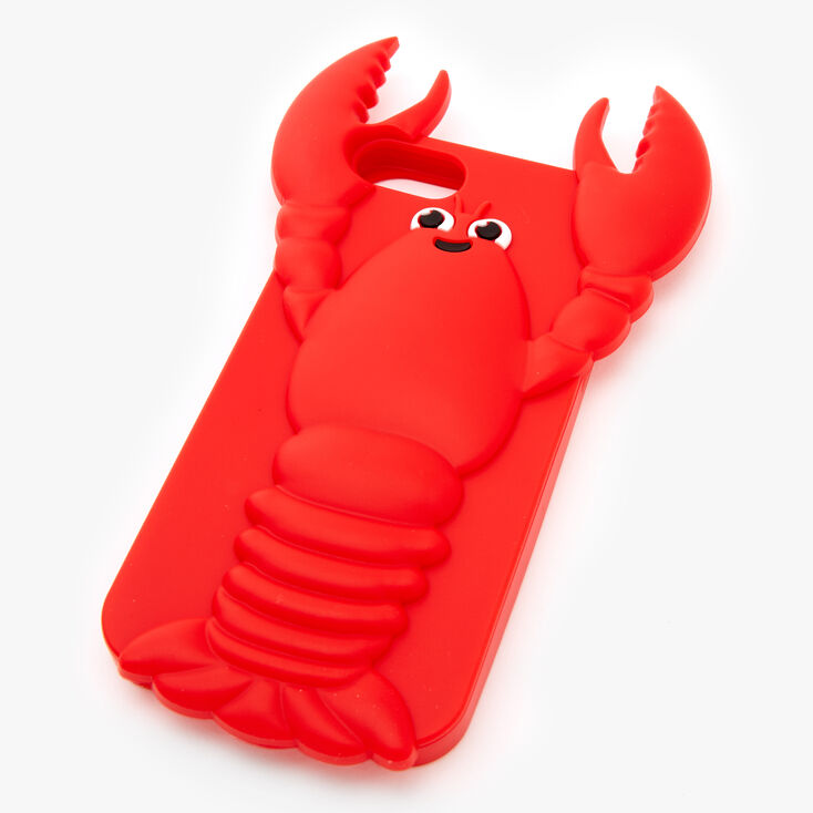 Lobster Silicone Phone Case - Fits iPhone 6/7/8 SE,
