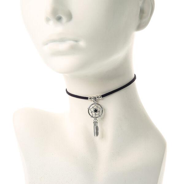 Claire's - dreamcatcher cord choker necklace - 1