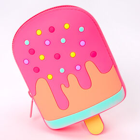 Popsicle Jelly Coin Purse - Pink,