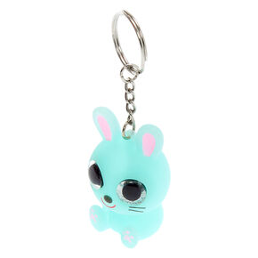 Bunny Eye Pop Keychain - Mint,