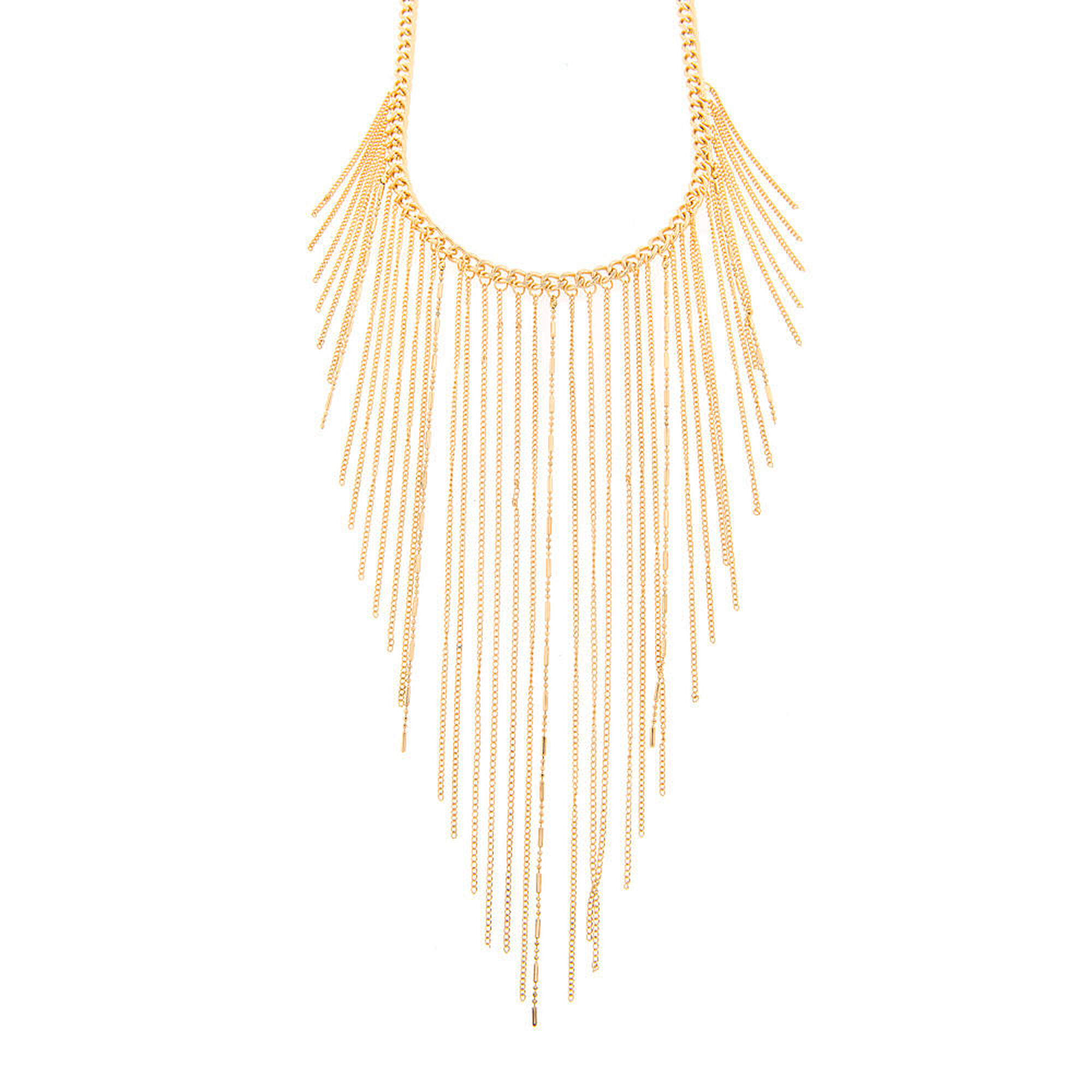 glory matte gold the necklace honor products link classic chain new
