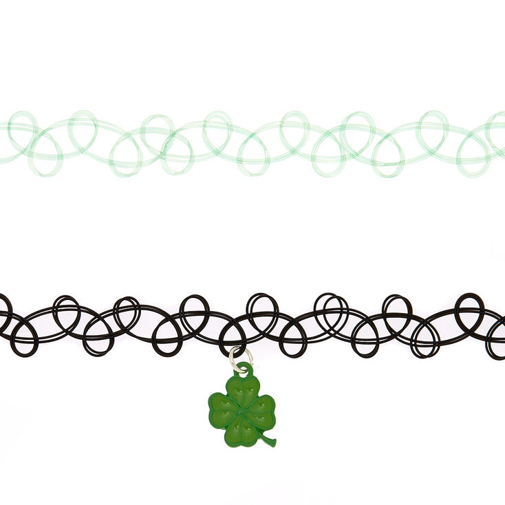St. Patrick's Day Choker Necklaces - 2 Pack,