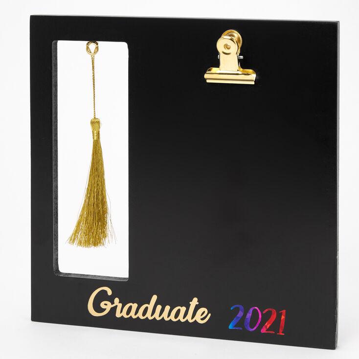 2021 Graduate Photo Clip Frame - Black,