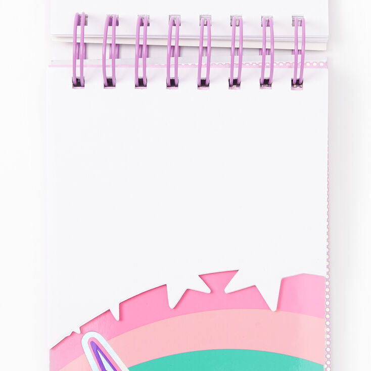 Miss Glitter the Unicorn Layered Notebook,