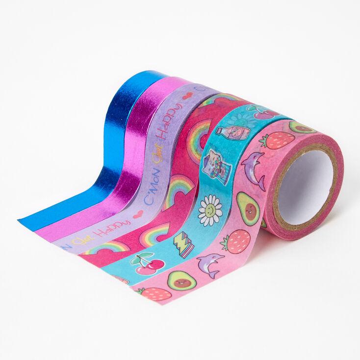 C'Mon Get Happy Washi Tape Set - 6 Pack,