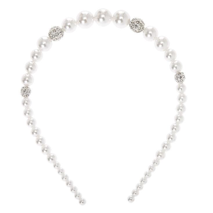 Pearl Halo Headband,