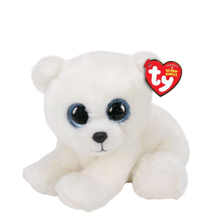 Ty Beanie Baby Small Ari the Polar Bear Soft Toy,