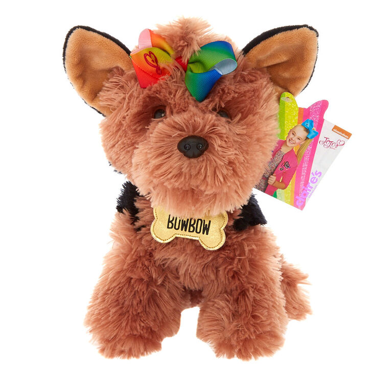 Jojo Siwa Bow Bow The Dog Plush Toy Claire S Us