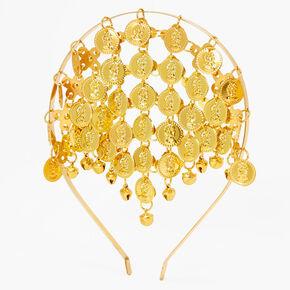 Gold Fortune Teller Headband,