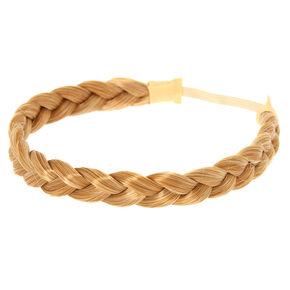 Blonde Faux Hair Braid Headwrap,