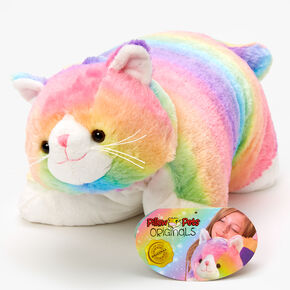 Pillow Pets® Originals Cosmic Kitty Plush Toy - Rainbow,