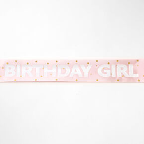Birthday Girl Sash - Pink,