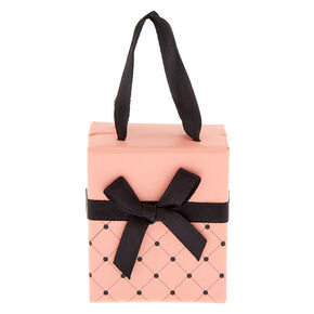 Small Quilted Gift Box - Pink,