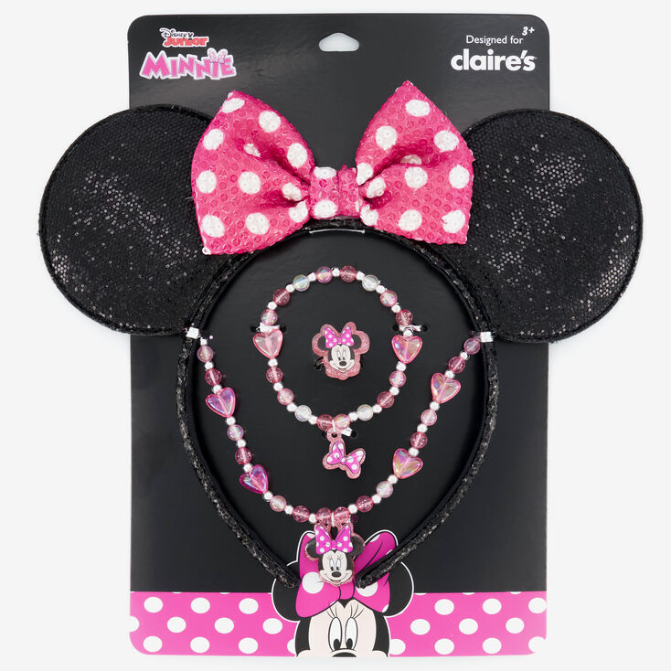 ©Disney Minnie Mouse Ears & Jewellery Set - 4 Pack,