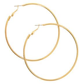 Gold 70MM Hoop Earrings,