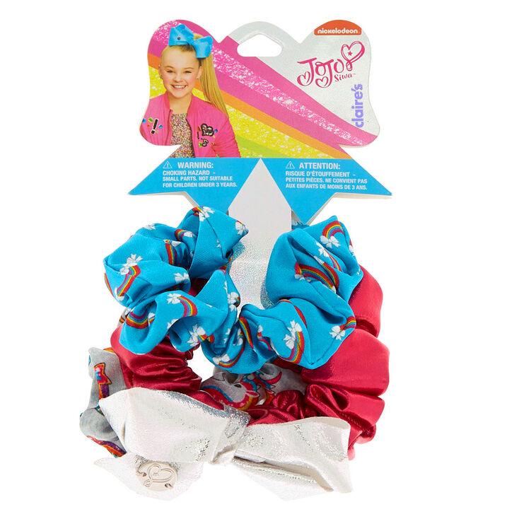 JoJo Siwa Rainbow Hair Scrunchies - 3 Pack,