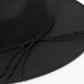Felt Rancher Hat - Black,