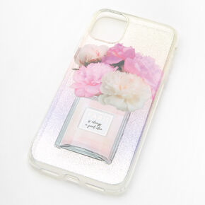 Paris Glitter Protective Phone Case - Fits iPhone 11,