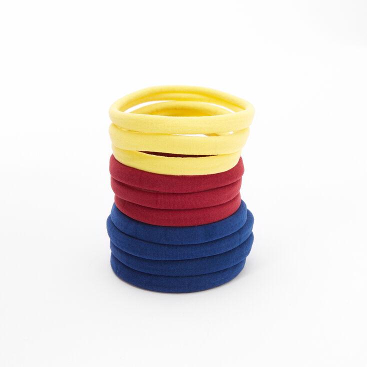 Fall Tone Rolled Hair Ties - 10 Pack,