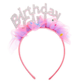 Claire's Club Birthday Girl Cupcake Headband,