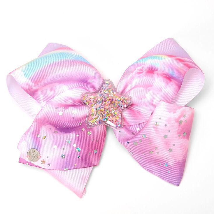 JoJo Siwa™ Large Star Shaker Hair Bow – Pink,