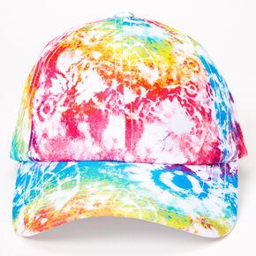 Casquette baseball tie-dye arc-en-ciel,
