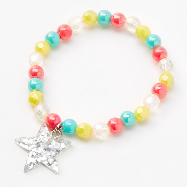 Claire's Club Star Beaded Jewelry Set - 2 Pack,
