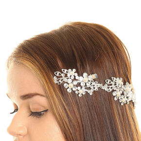 Crystal Flower Decorative Hair Swag,