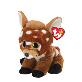 Ty Beanie Baby Small Buckley the Deer Soft Toy,