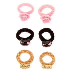 Claire's Club Cat Hair Bobbles - 6 Pack,