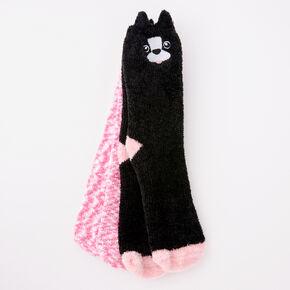 Terrier Plush Crew Socks - 2 Pack,