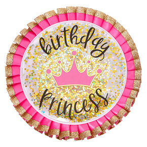 Birthday Princess Button - Pink,