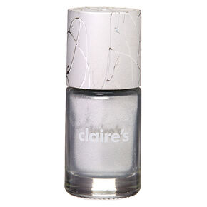 Metallic Nail Polish - Silver,