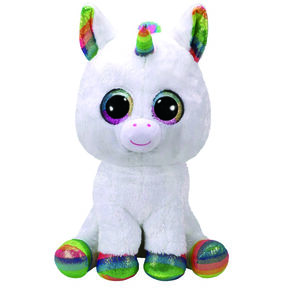 8f9a50bca8a Ty Beanie Boo Large Pixy The Unicorn Soft Toy
