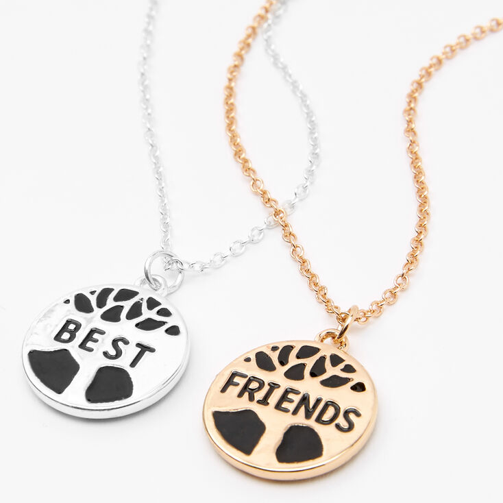 Best Friends Tree of Life Pendant Necklaces - 2 Pack,